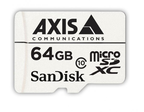 AXIS SURVEILLANCE CARD 64 GB 10P