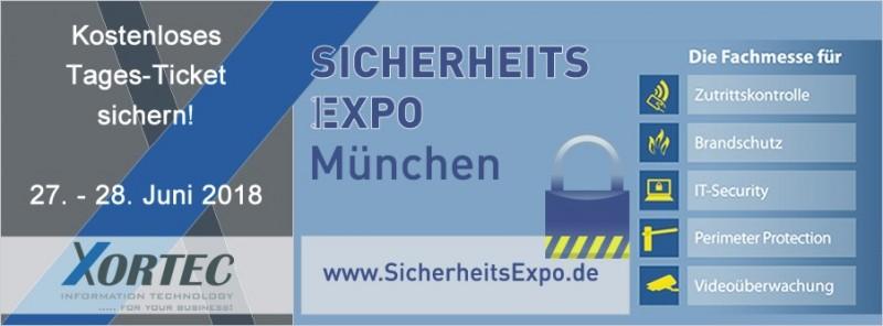 SicherheitsExpo München 2018